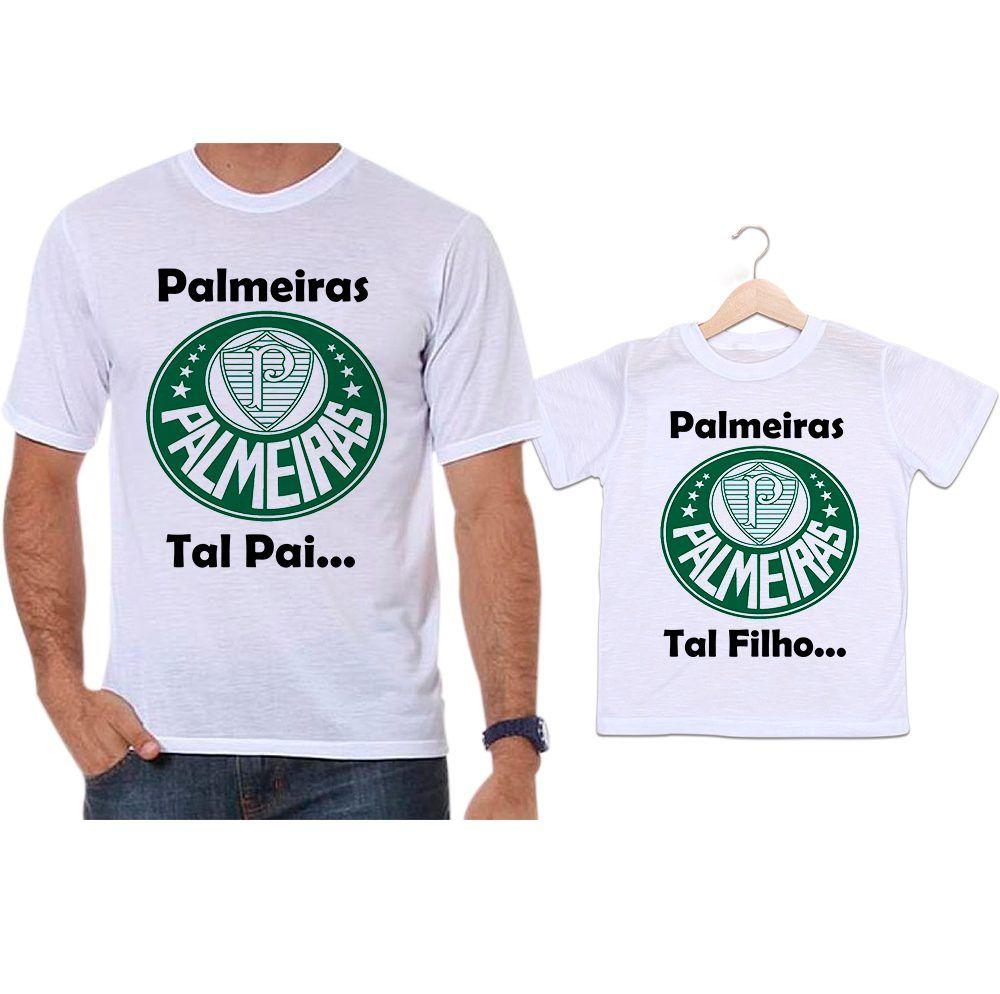 Camisetas Tal Pai Tal Filho Futebol Palmeiras