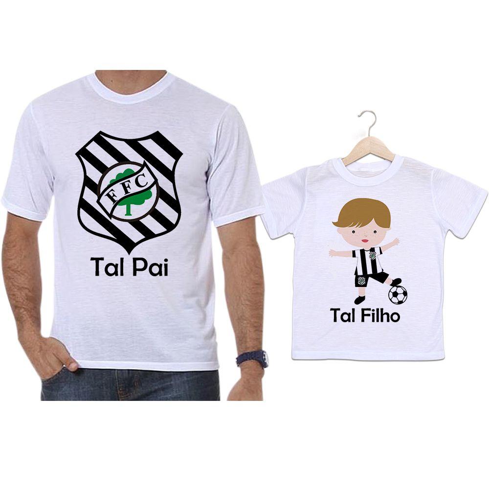 Camisetas Tal Pai Tal Filho Futebol Time Figueirense