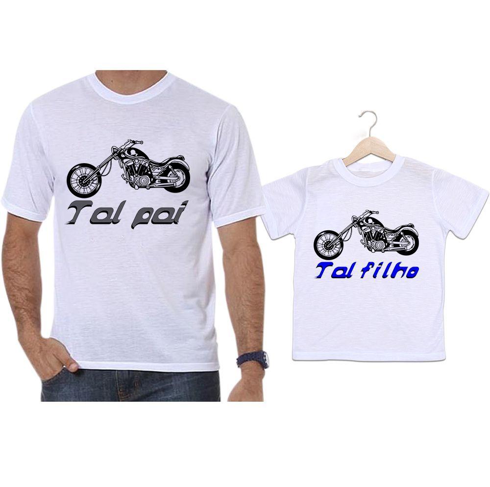 Camisetas Tal Pai Tal Filho Moto Aventura