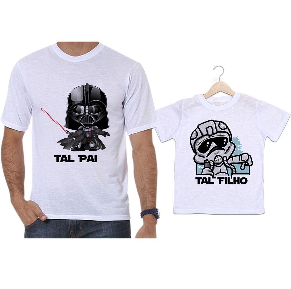 Camisetas Tal Pai Tal Filho Star Wars Darth Vader