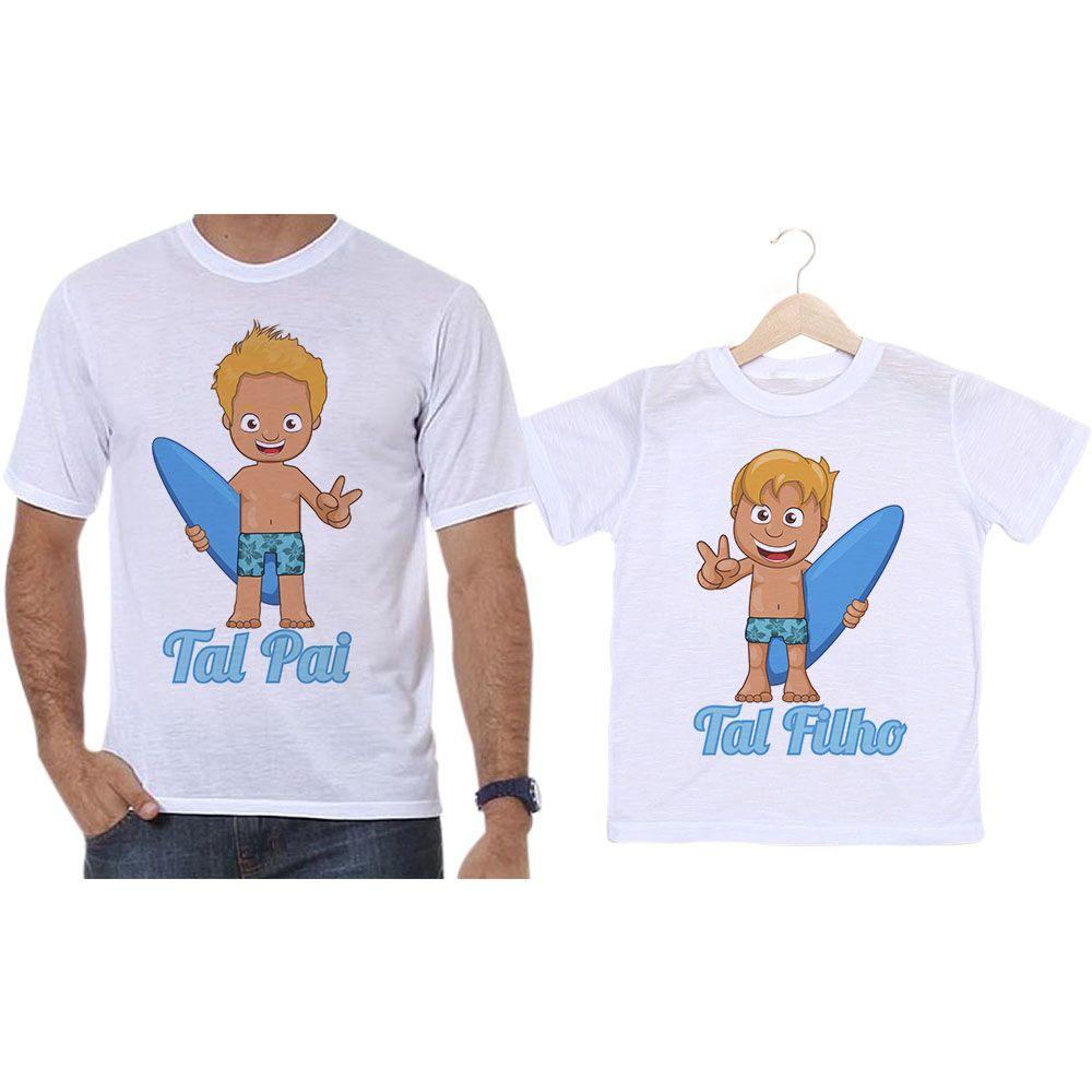 Camisetas Tal Pai Tal Filho Surfistas