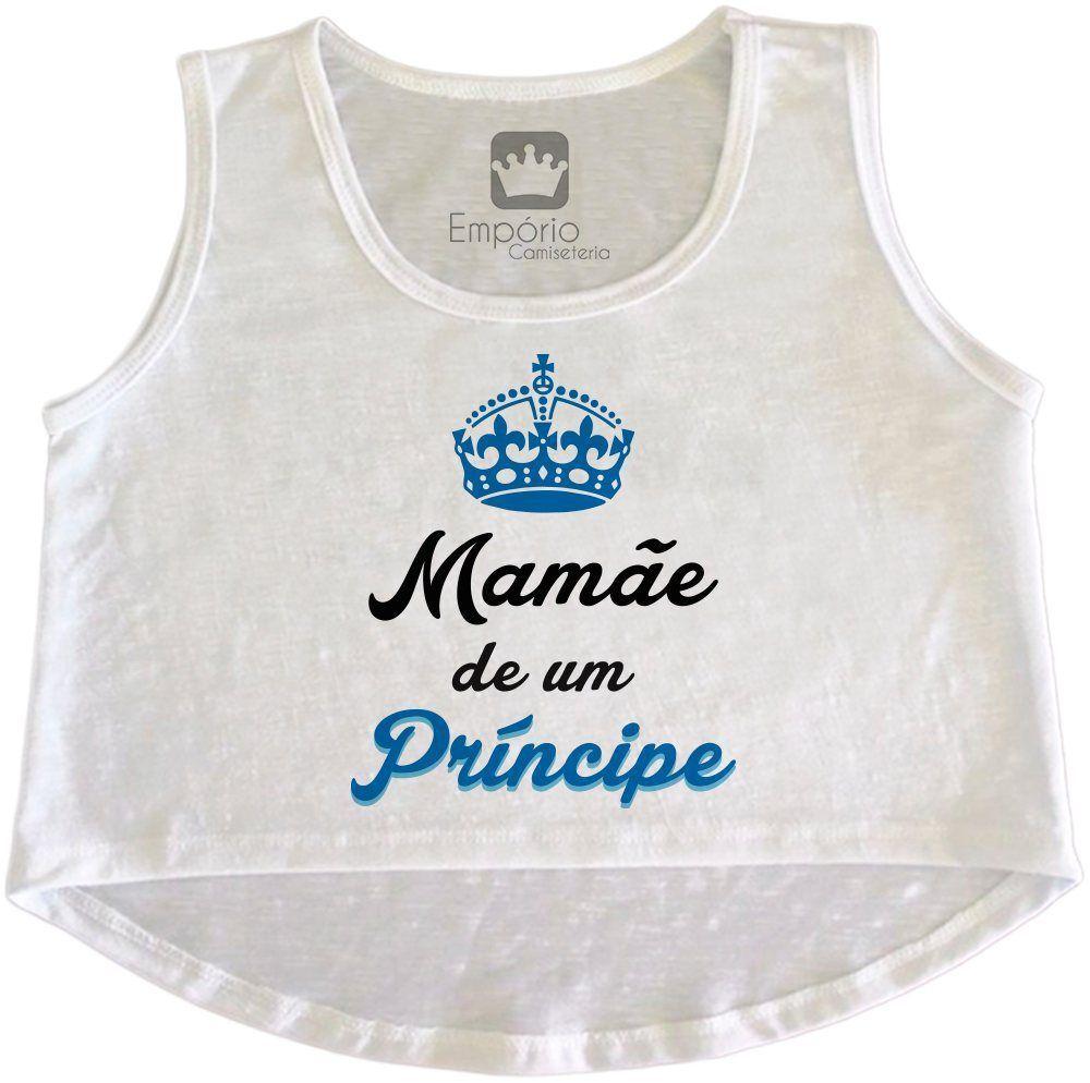 Cropped Gestante Mamãe de um Príncipe