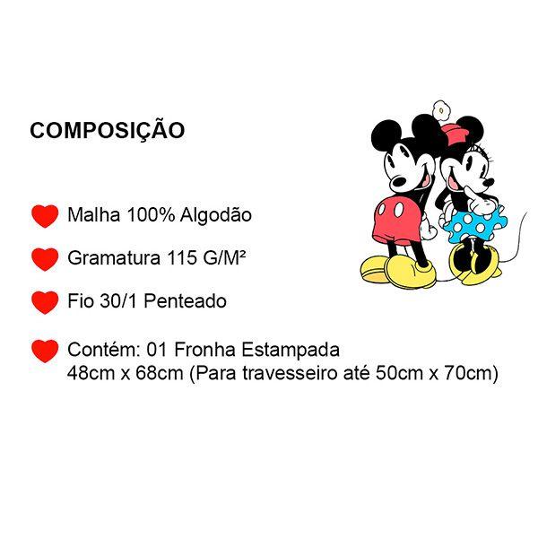 Fronha Avulsa Amigos do Mickey