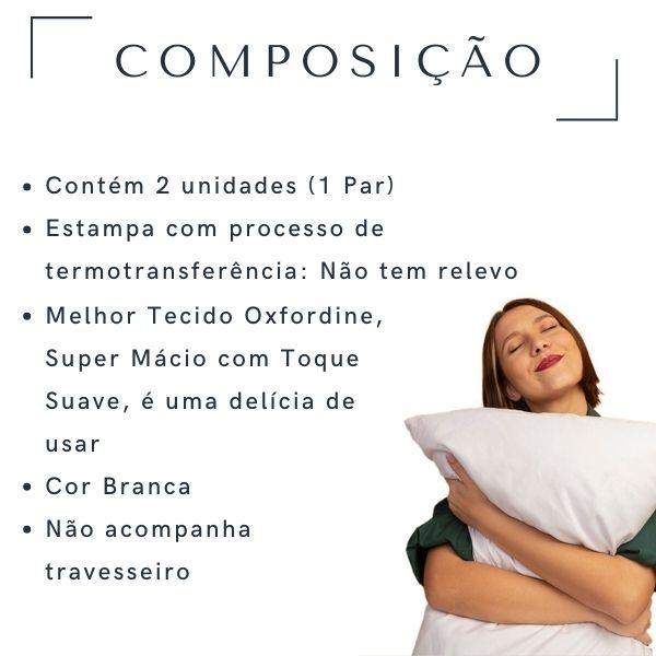 Fronhas Casal Eternos Namorados - CA1326