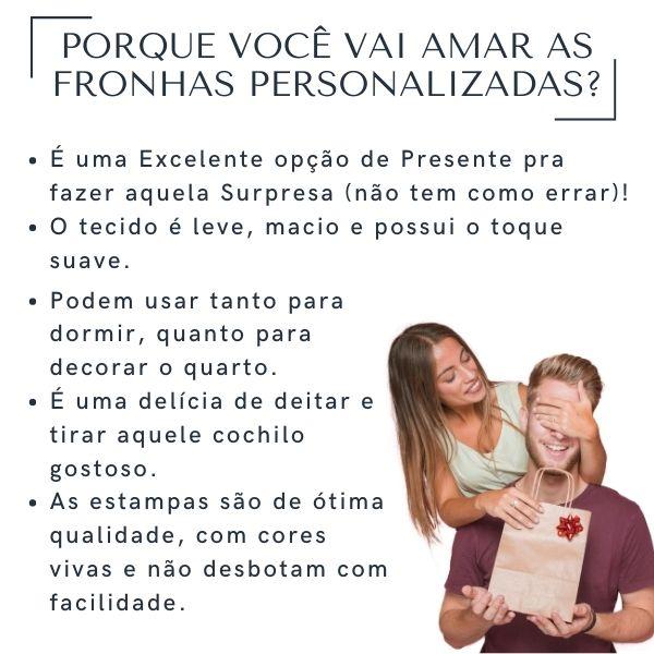 Fronhas Casal Feliz Dia dos Namorados - CA1346