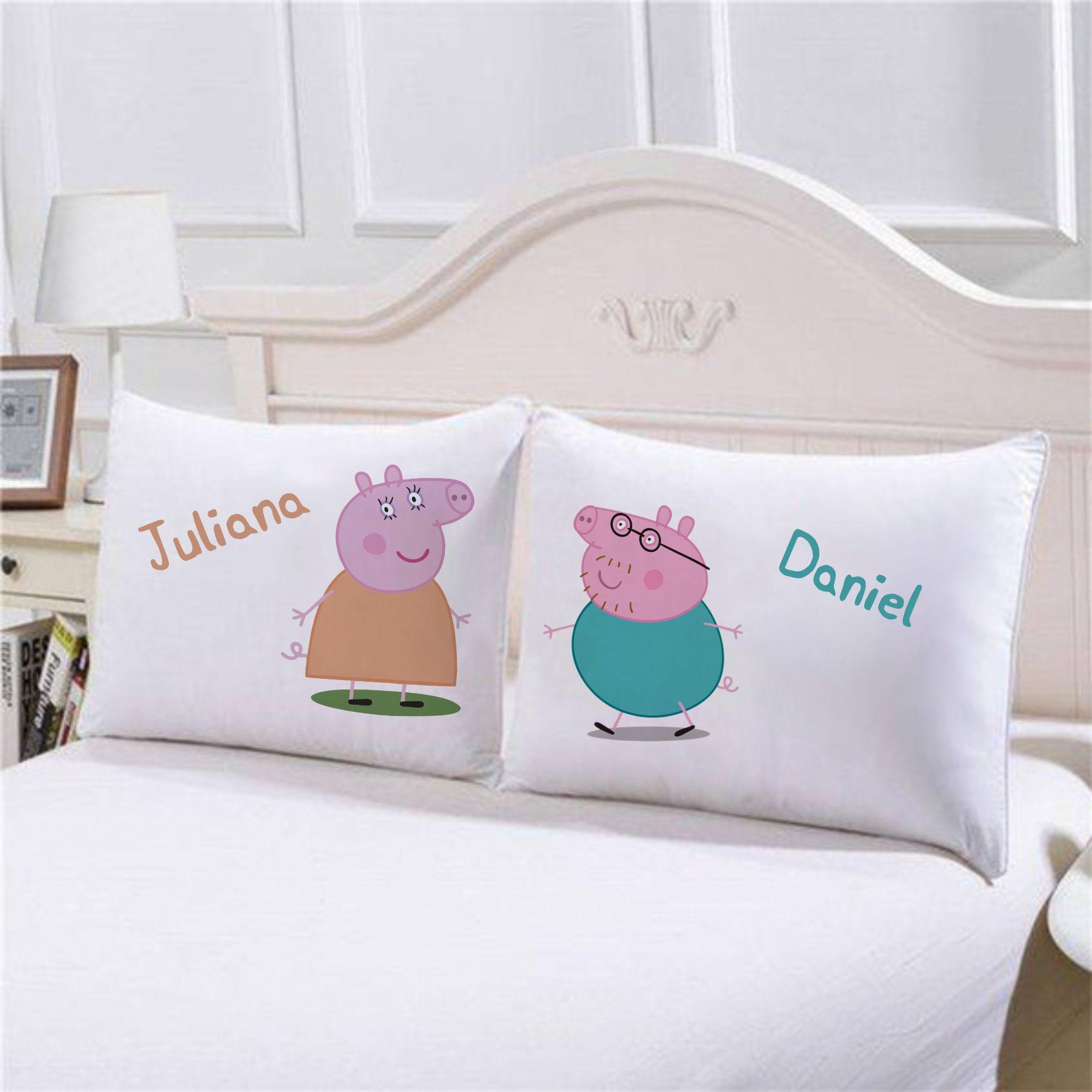 Fronhas Peppa Pig Personalizadas