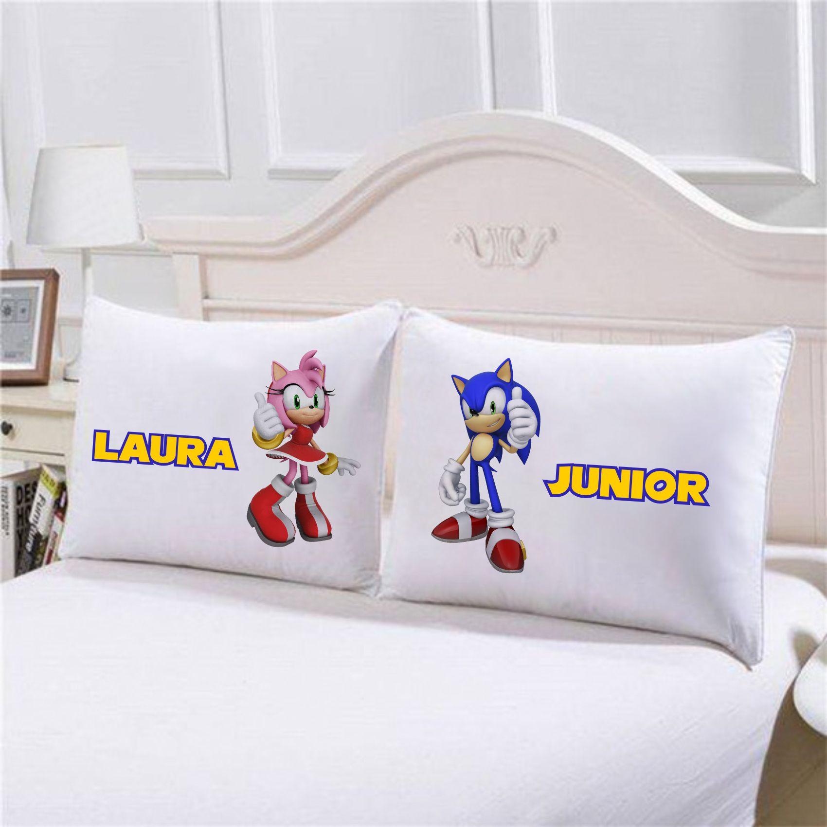 Fronhas Sonic Personalizadas