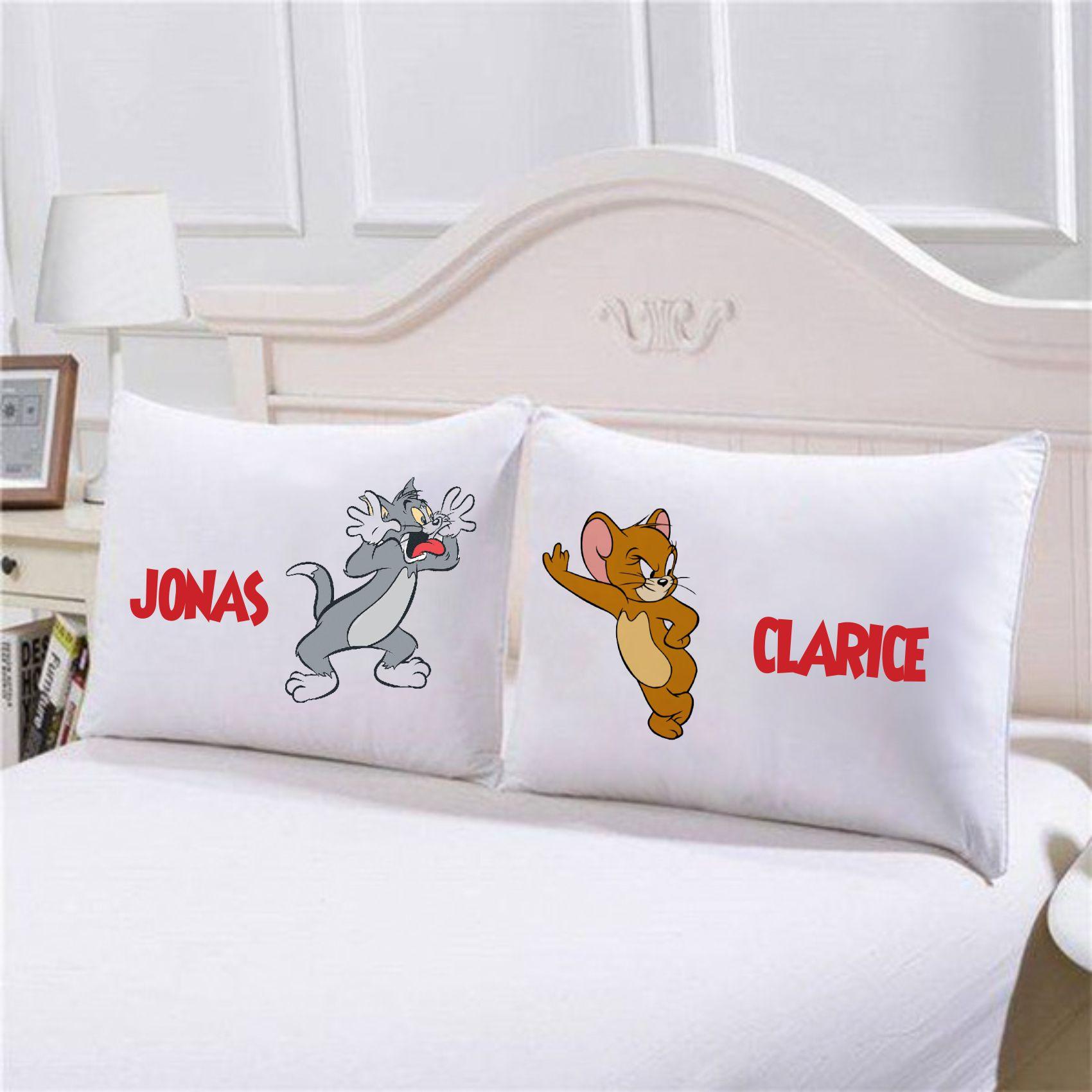 Fronhas Tom e Jerry Personalizadas