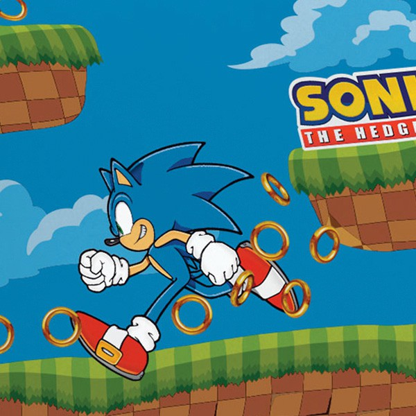 Jogo de Cama Casal Sonic 3 Peças FR1048