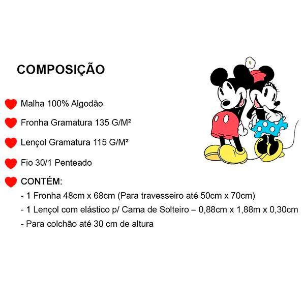 Jogo de Cama Solteiro Dinossauros - 2 Peças FR1086