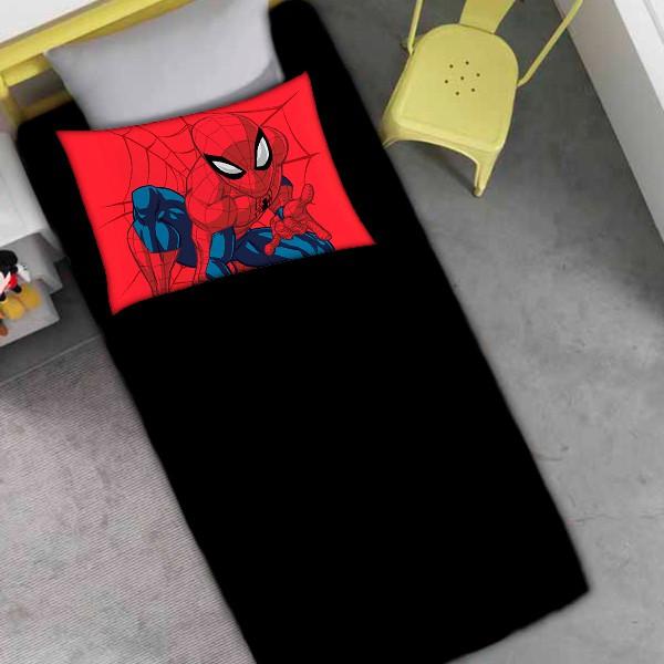 Jogo de Cama Solteiro Homem Aranha - 2 Peças FR1056