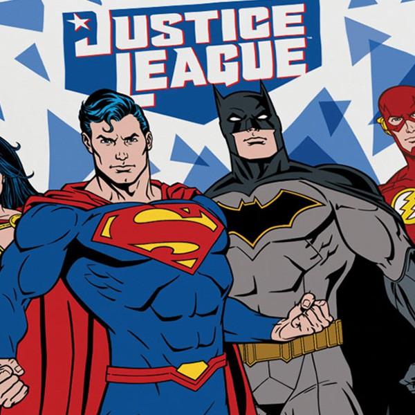 Jogo de Cama Solteiro Liga da Justiça - 2 Peças FR1057