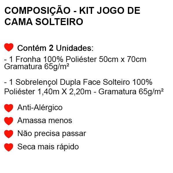 Jogo de Cama Solteiro Toy Story - 2 Peças - FR00996