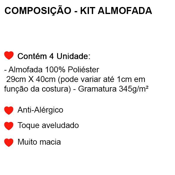 Kit Almofadas Os Vingadores - 4 Peças - FR0987
