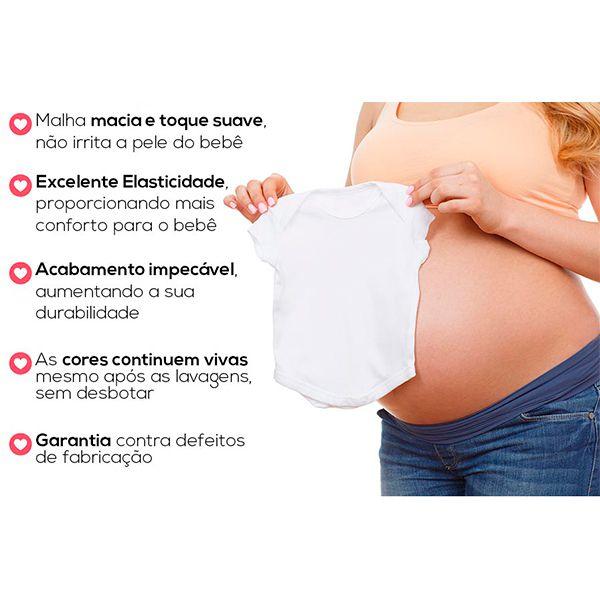 Kit Body Mesversario Meses Do Bebê Personalizado