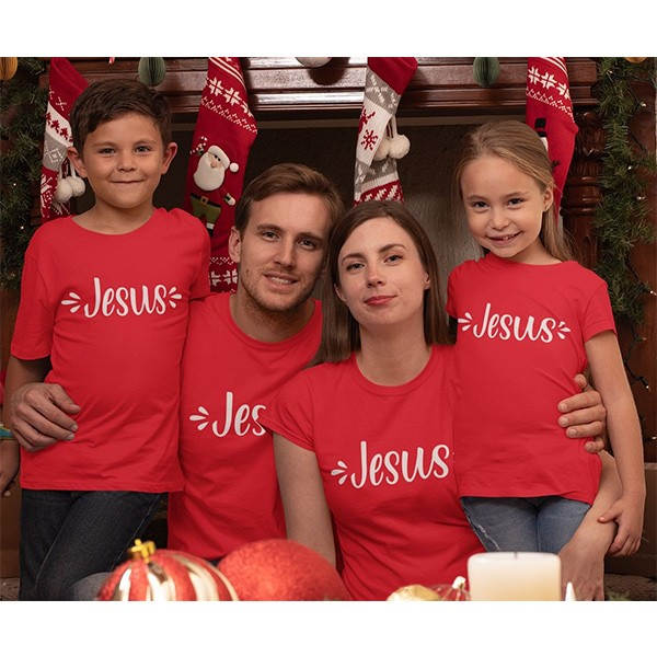 Kit Camiseta Família Natal - 4 peças - CA1038