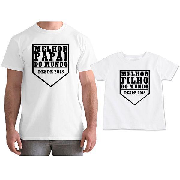 d508ff11d7 ... Kit Camisetas Personalizadas Tal Pai Tal Filho Melhor Papai do Mundo  CA0751 - Empório Camiseteria ...