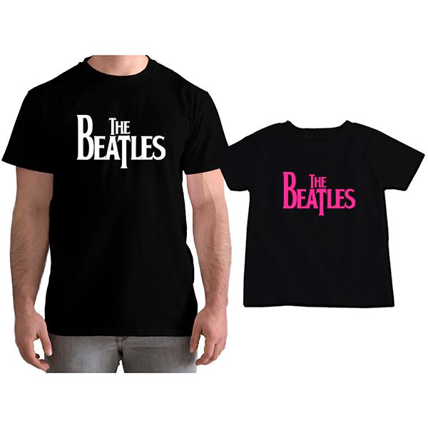 Kit Camisetas Tal Pai Tal Filha The Beatles CA0861