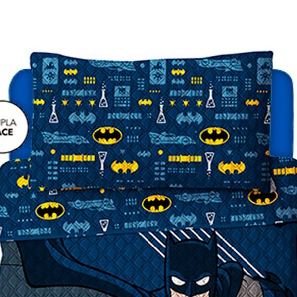 Kit Jogo de Cama Solteiro Batman - 2 Peças - FR1064