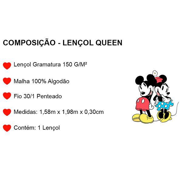 Lençol Queen