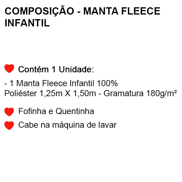Manta Fleece Infantil Homem Aranha - 1 Peça - FR0990