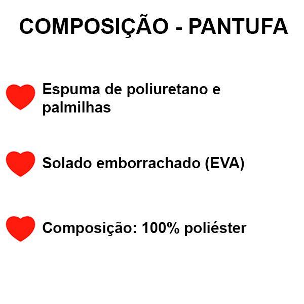 Pantufa Gato Rosa
