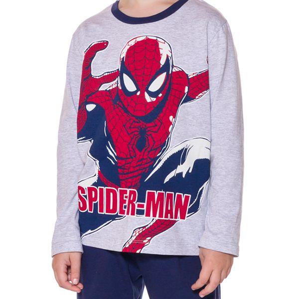 Pijama Infantil Manga Longa Homem Aranha
