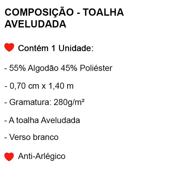Toalha Aveludada Mulher Maravilha - 1 Peça - FR1080
