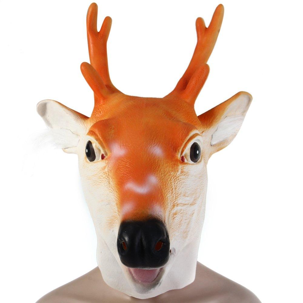 Máscara De Látex Alce Pronta Entrega