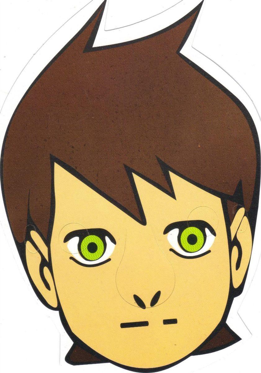 Máscara De Papel Personagens Com 400 Un