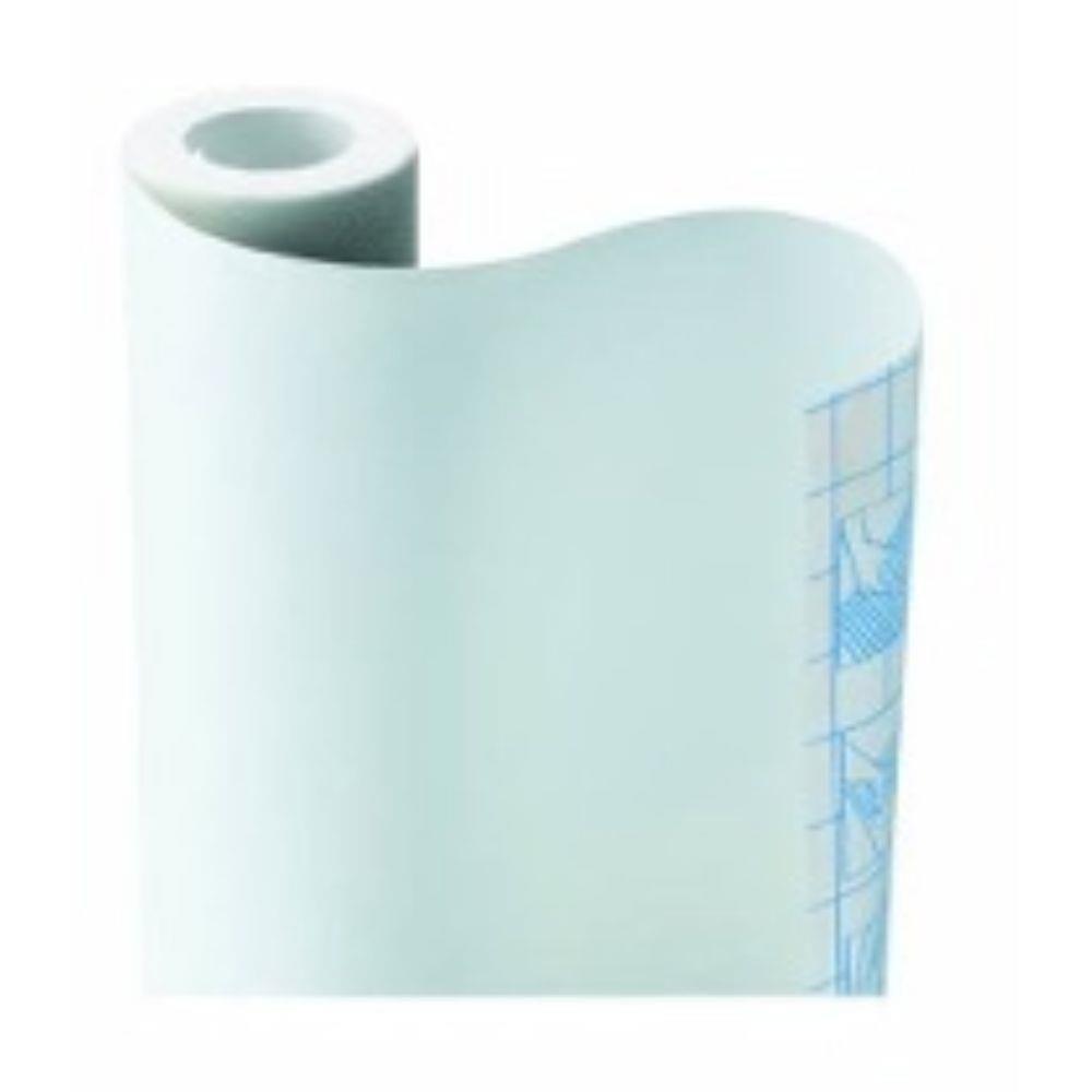Papel Adesivo Contact Branco Fosco Opaco 45 Cm X 5 Mts