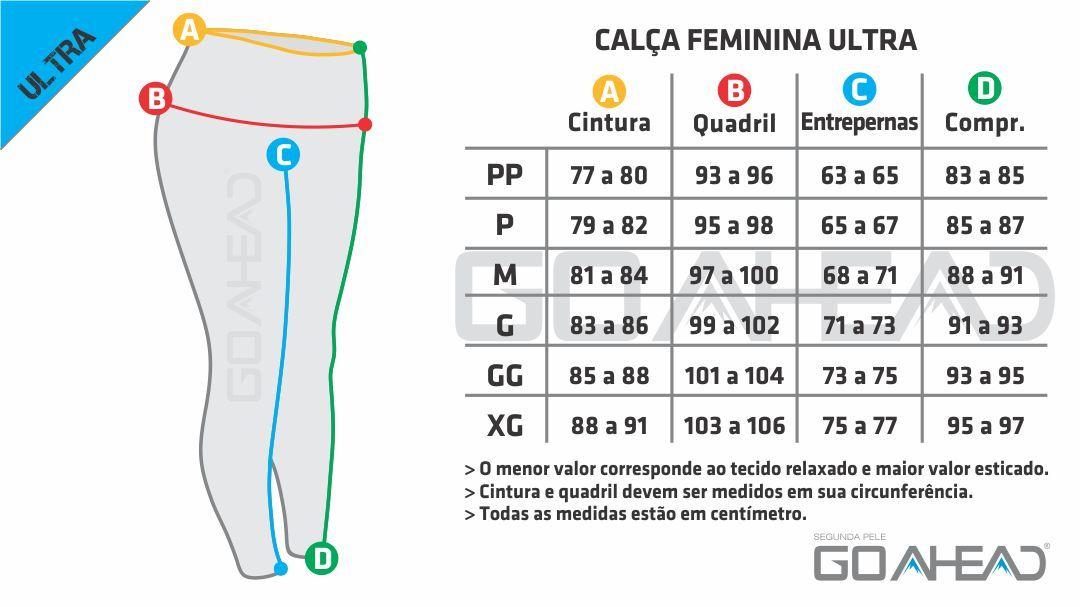 Calça segunda pele ULTRA Feminina