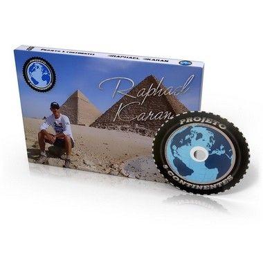 DVD Projeto 5 Continentes
