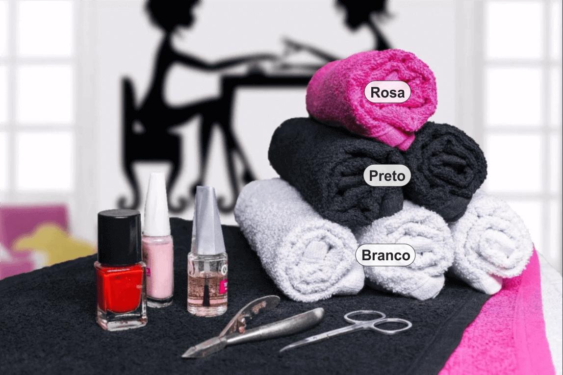 20ffdda23 Toalha para Manicure e Pedicure - 28x45cm - Kgd - Central Toalhas