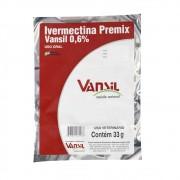 Ivermectina Premix 0,6% - Sache 333g Vansil