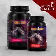 Kit Power Nutri  Cavalo Baby 3kg + Power Nutri Cavalo Crescimento 1kg