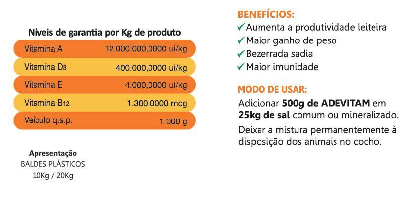 Adevitam - Ade + Vitamina B12