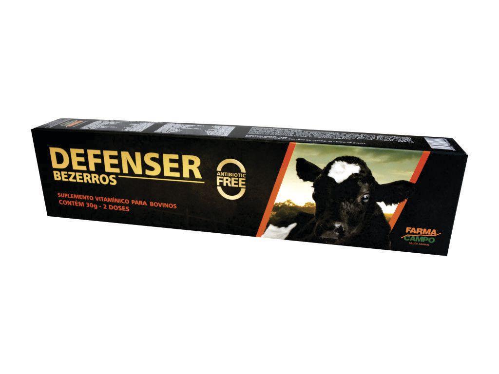 DEFENSER BEZERROS ORAL 30g