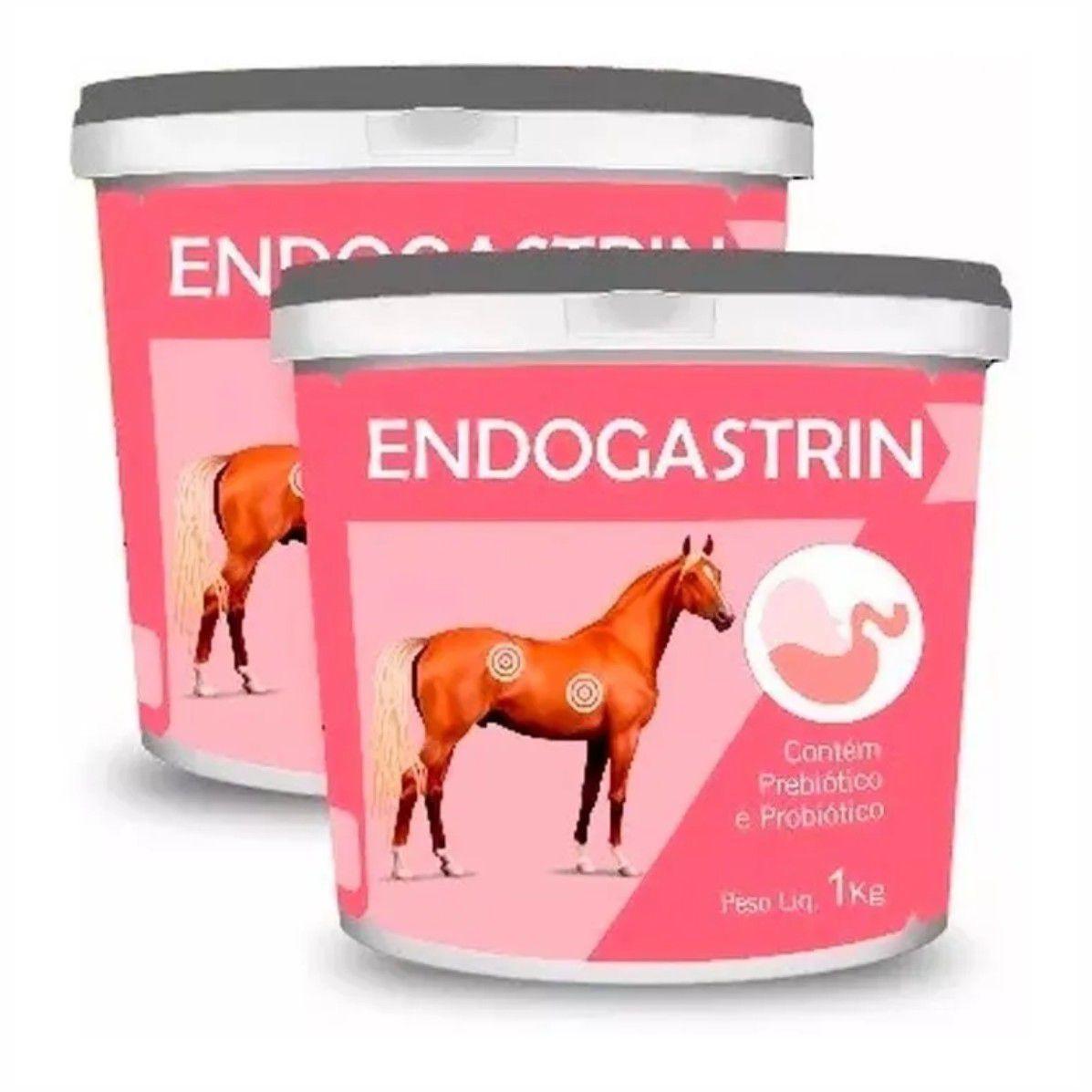 Endogastrin 1kg - Suplemento p/ equinos, asininos, e muares