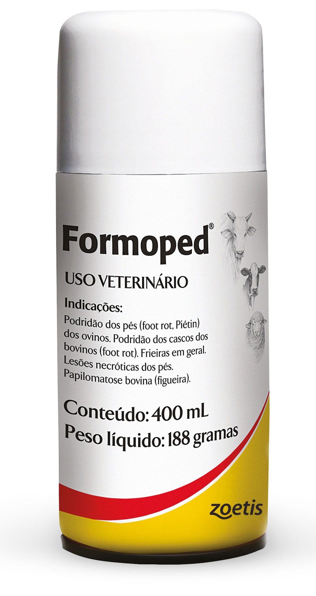Formoped 400ml - Bactericida e antisséptico