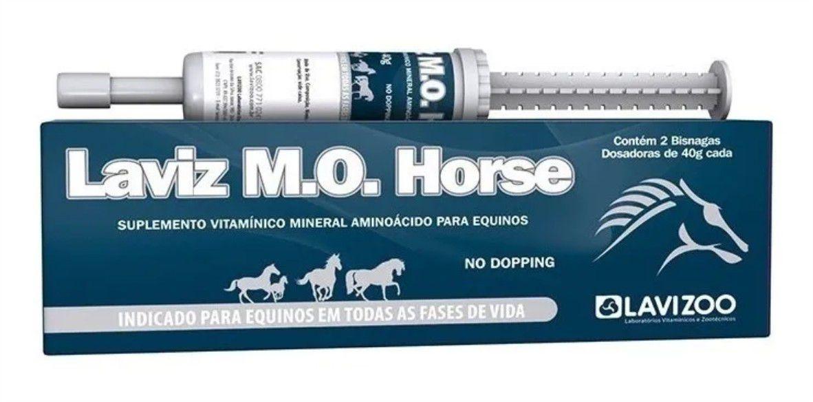 Laviz M.O. Horse - Suplemento Vitamínico Cavalo Lavizoo