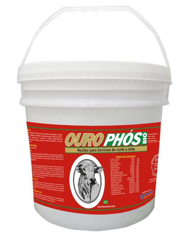 Ourophos Bio - Corte/Leite -  Alta concentração em Probióticos