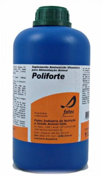 POLIFORTE  Oral - Revigorador orgânico integral 1L