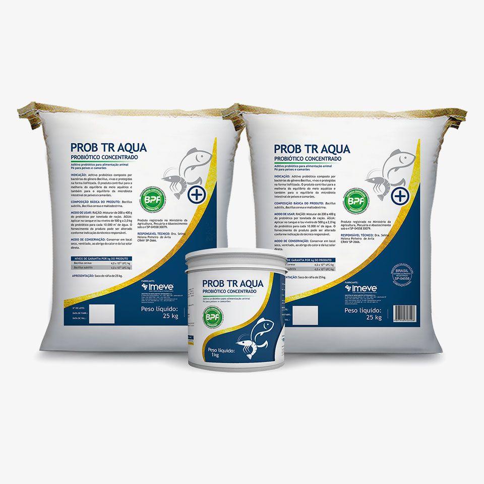 Prob TR Aqua CONCENTRADO - PEIXES e CAMARÕES - Aditivo probiótico termorresistente