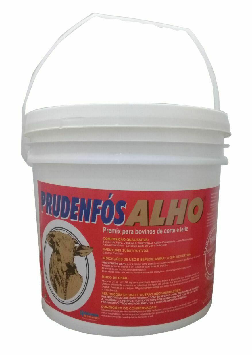 Prudenfós Alho - Carrapatos, Moscas  e Bernes