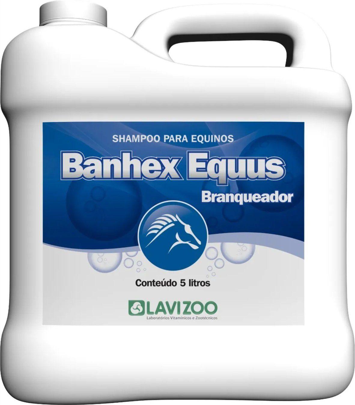 Shampoo Banhex Equus Branqueador