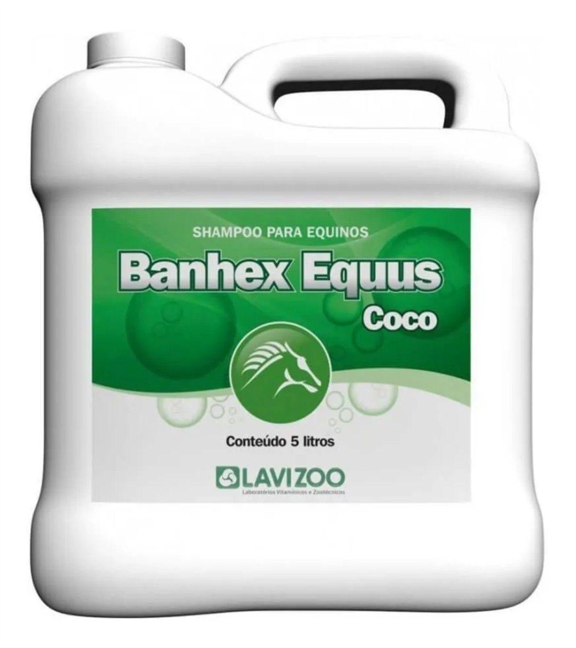 Shampoo Banhex Equus Côco