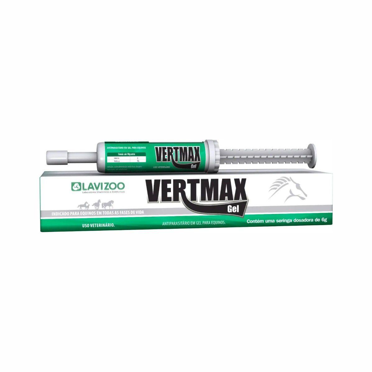 Vertmax Gel-  Ivermectina a 2% - Antiparasitário Oral