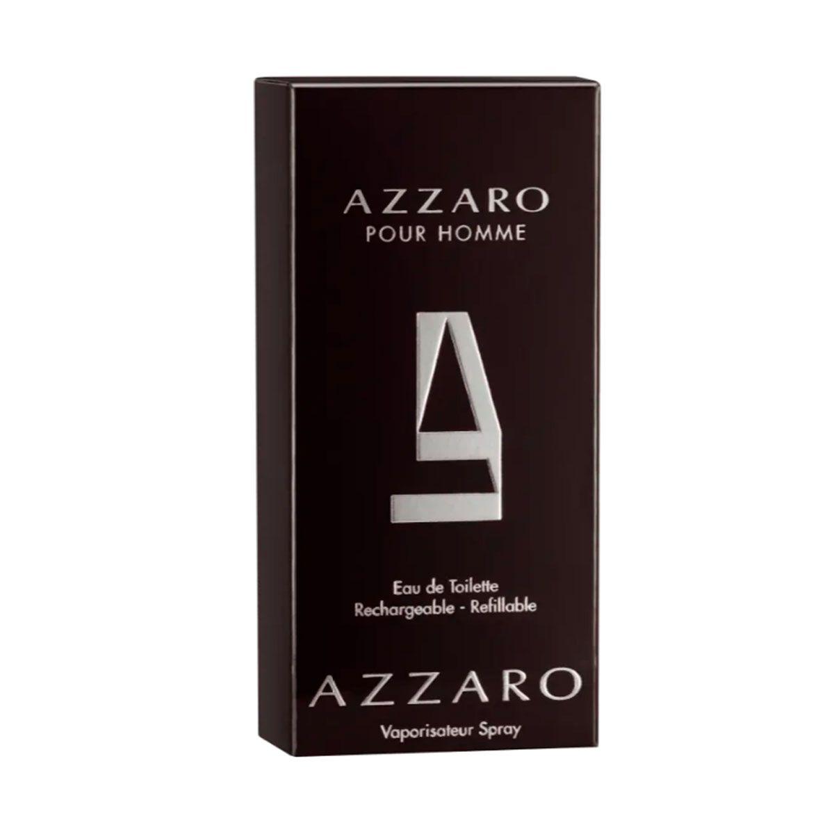 2707d3cde Perfume Masculino Azzaro Pour Homme Eau de Toilette 30ml - Boutique ...