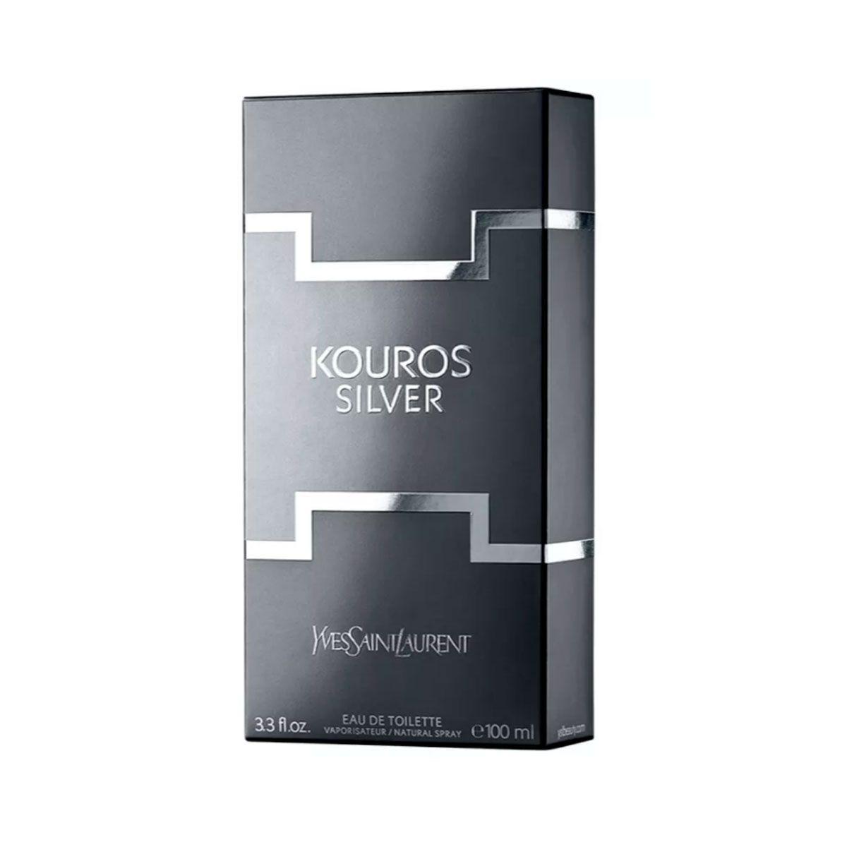 dd129e0fed Perfume Masculino Yves Saint Laurent Kouros Silver Eau de Toilette 50ml